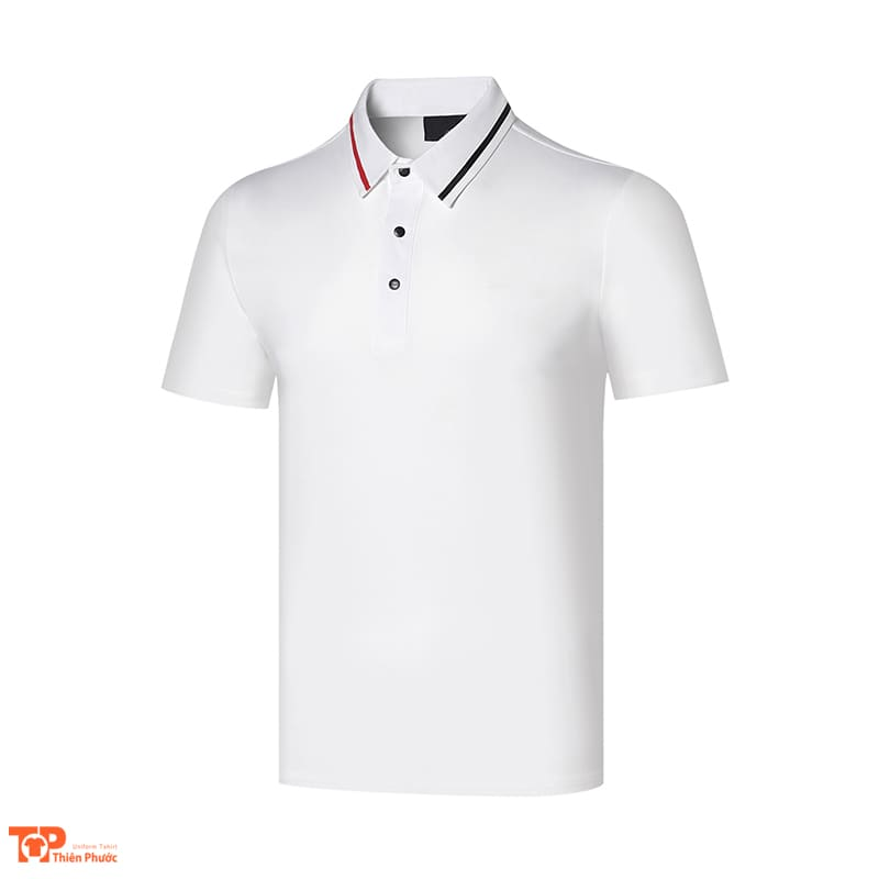 áo đồng phục công ty nam màu trắng