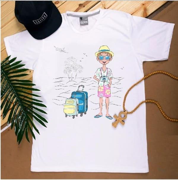 áo đồng phục đi biển yolo
