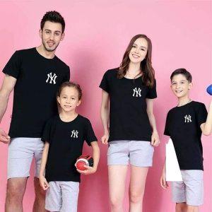 áo đồng phục gia đình màu đen