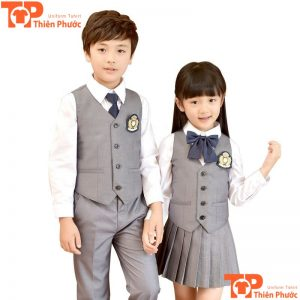 áo đồng phục học sinh mầm non quốc tế