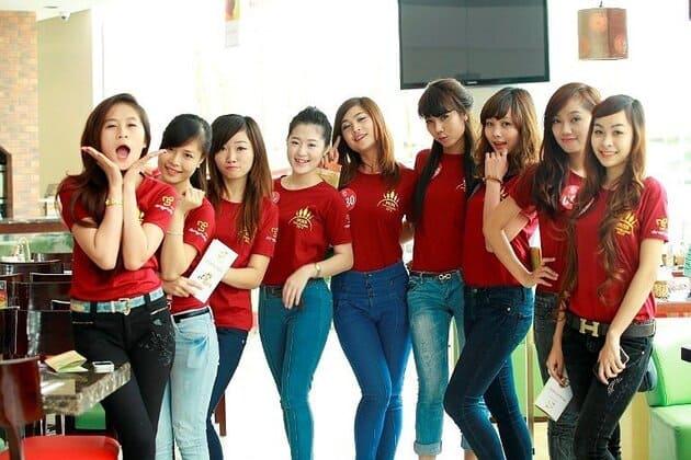 áo đồng phục nhóm cho nữ