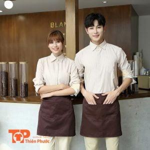 áo đồng phục quán cafe đẹp