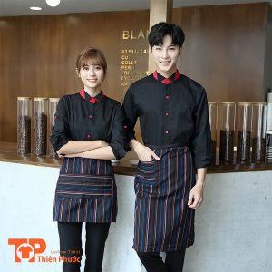 áo đồng phục quán cafe năng động trẻ trung