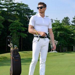 áo đồng phục thể thao nam đánh golf