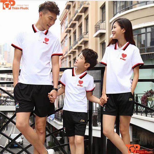 áo gia đình 3 người mùa hè