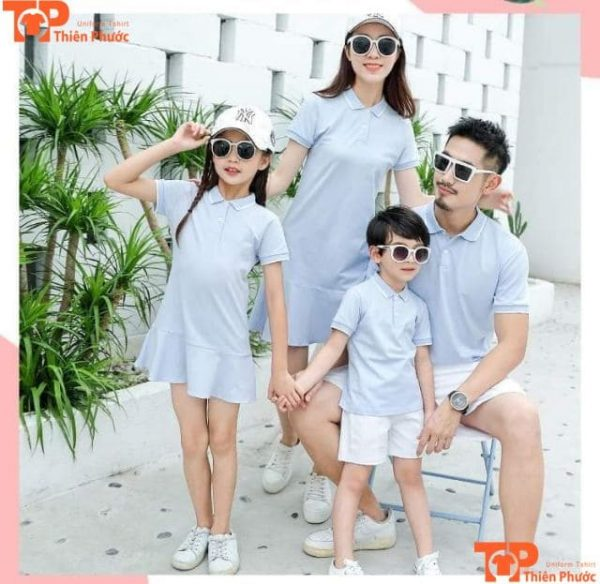 áo gia đình 4 người đi chơi