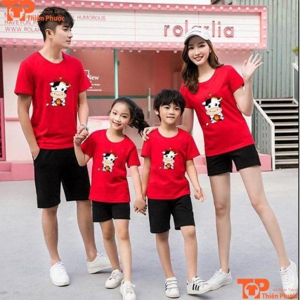 áo gia đình 4 người dịp tết