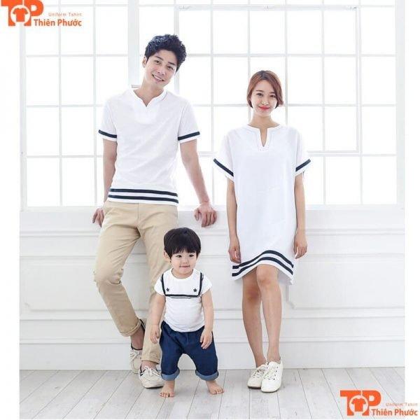 áo gia đình cho bé dưới 1 tuổi