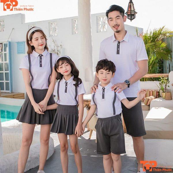 áo gia đình cổ trụ