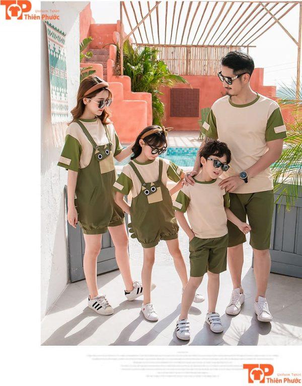 áo gia đình đi dã ngoại