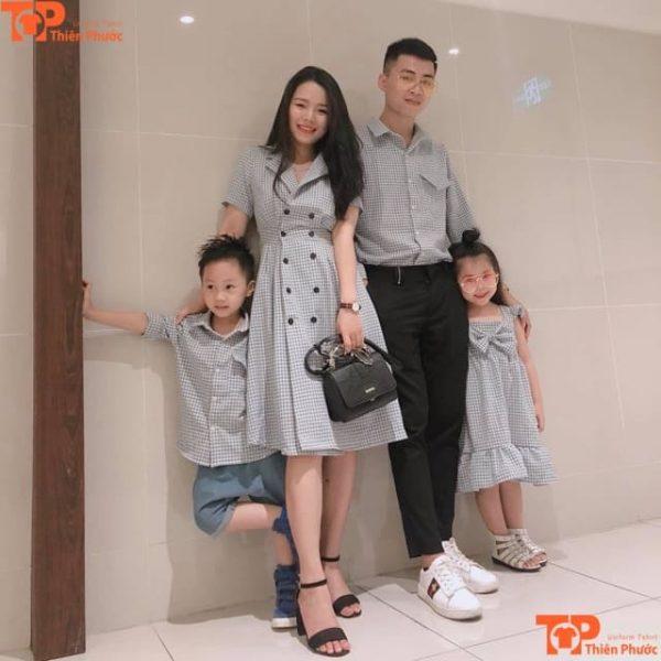 áo gia đình đi sự kiện