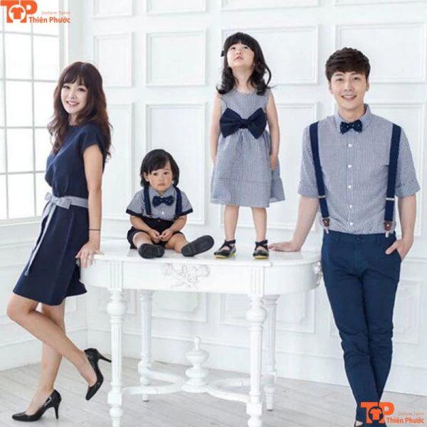 áo gia đình thiết kế cao cấp nhất