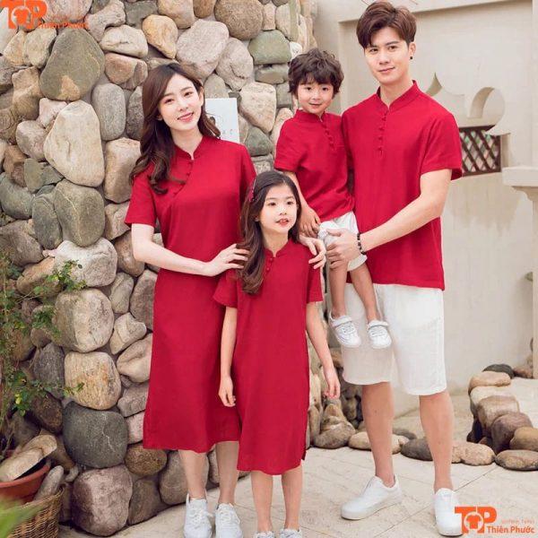 áo gia đình thiết kế mẫu cao cấp