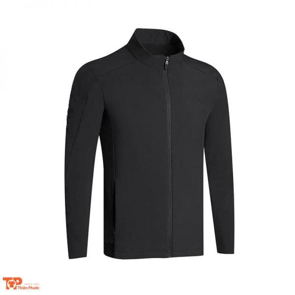áo khoác đồng phục công ty màu đen