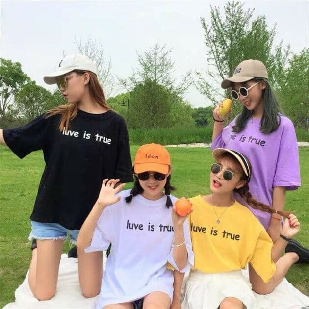 áo nhóm nữ
