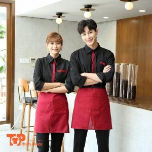 áo sơ mi đồng phục quán cafe