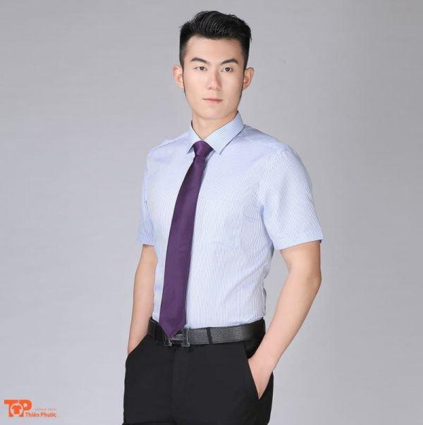 áo somi đồng phục công ty doanh nghiệp nam