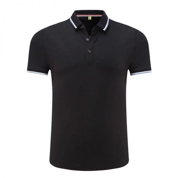 áo thun đồng phục văn phòng màu đen tay ngắn