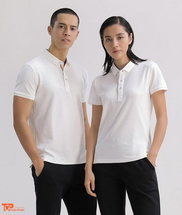 áo thun doanh nghiệp công ty màu trắng