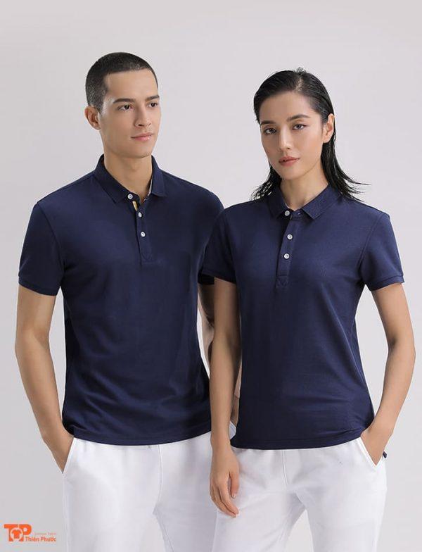 áo thun doanh nghiệp công ty màu xanh đen