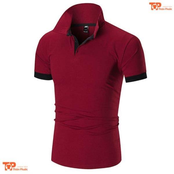 áo thun đồng phục công ty chất lượng cao màu đỏ