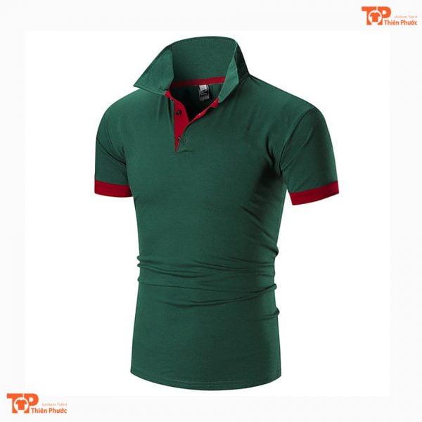 áo thun đồng phục công ty chất lượng cao màu lam