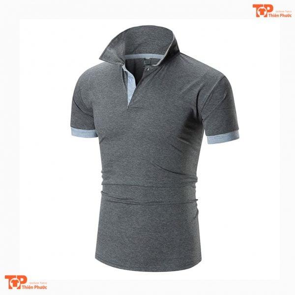 áo thun đồng phục công ty chất lượng cao màu xám