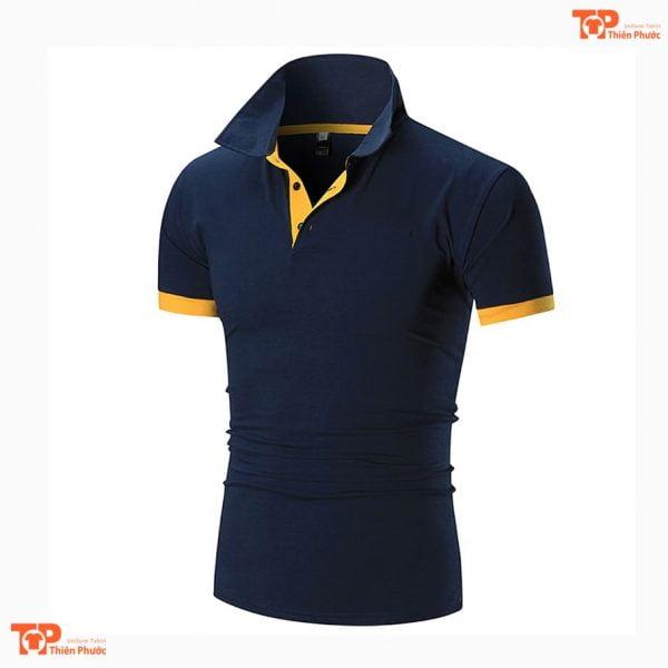 áo thun đồng phục công ty chất lượng cao màu xanh