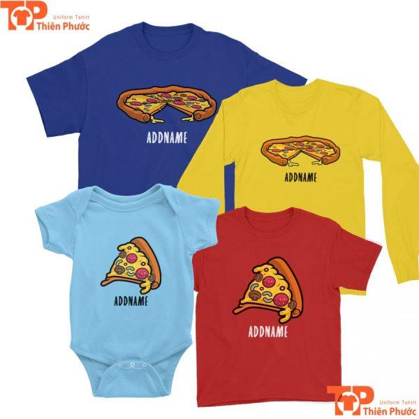 áo thun gia dình nhiều mẫu cho trẻ dưới 1 tuổi