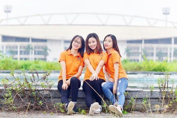 áo thun nhóm 3 người đẹp