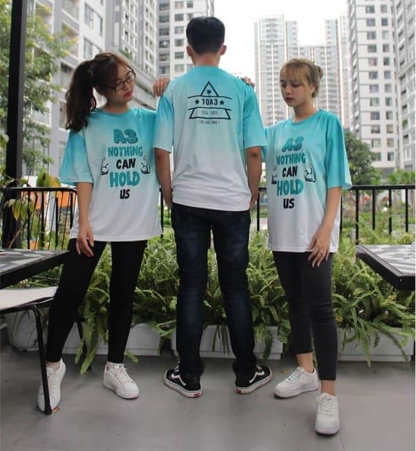 áo thun nhóm 3 người