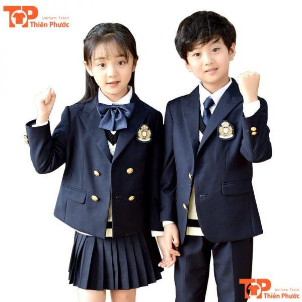 áo vest đồng phục mầm non trường quốc tế