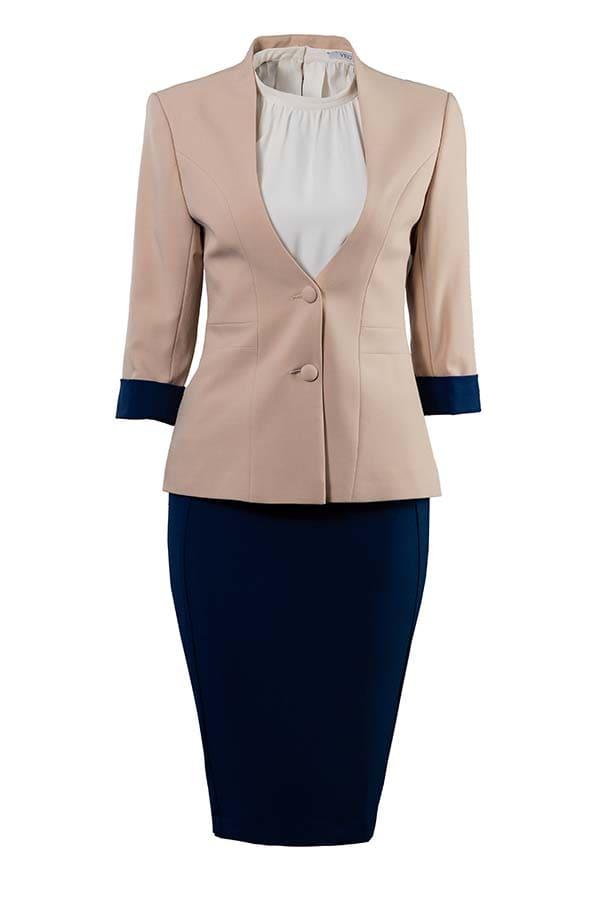 bộ đồng phục công sở vest cho nữ