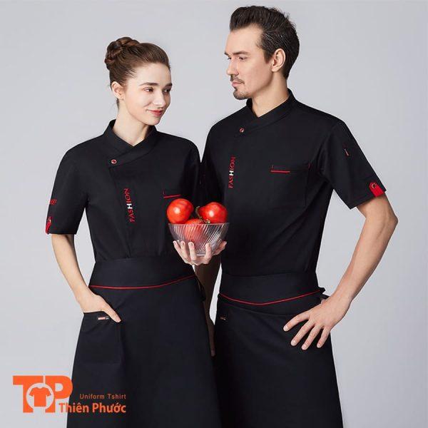 bộ đồng phục nhà hàng cho nam nữ