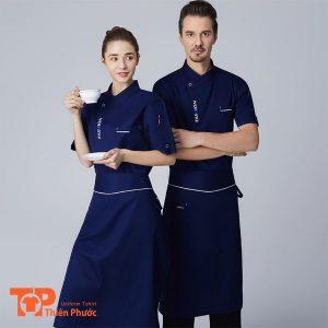 bộ đồng phục nhà hàng nam nữ