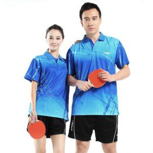 bộ đồng phục thể thao bóng bàn nam nữ