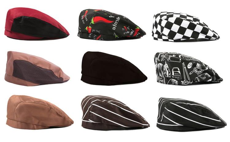 các mẫu mũ đầu bếp