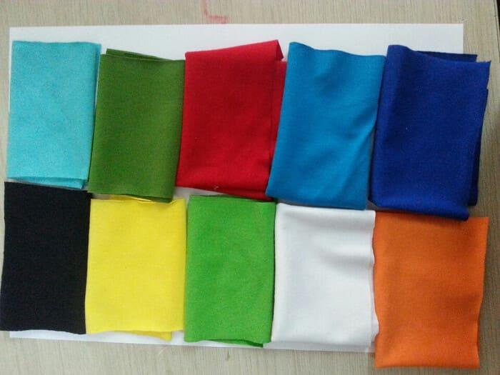 chất liệu vải may áo nhóm