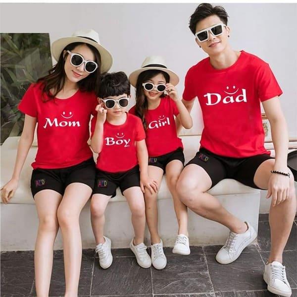 đồ đồng phục gia đình