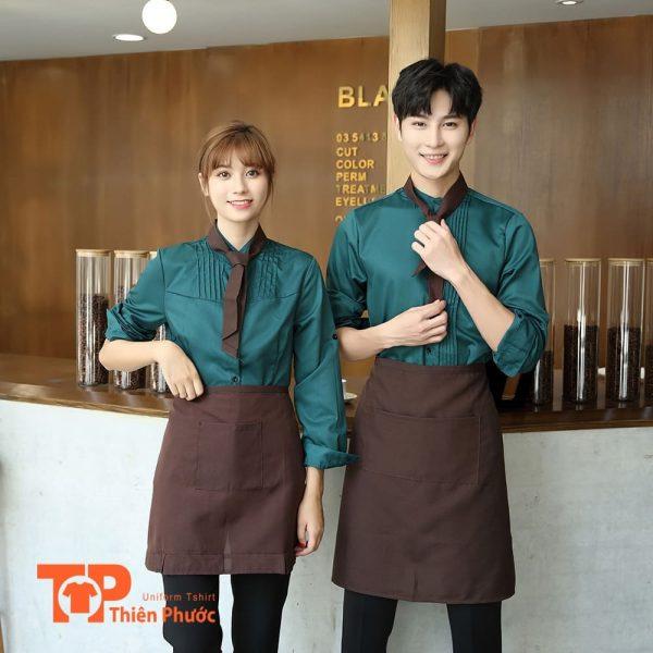 đồng phục áo thun quán cafe