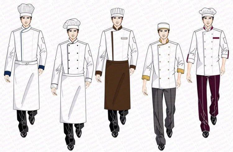 đồng phục bếp bánh