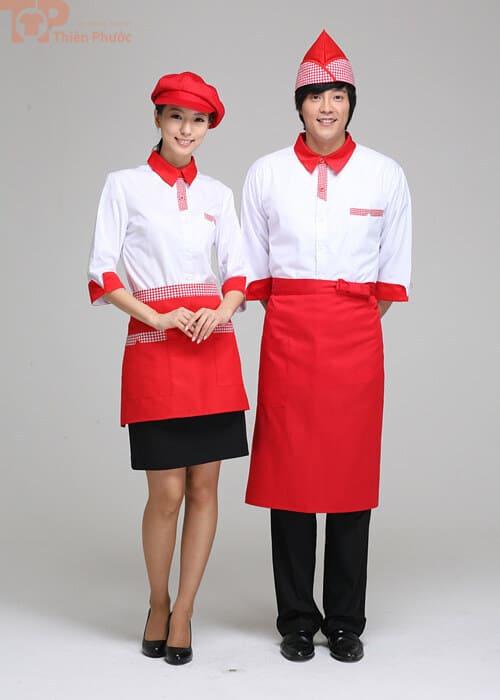 đồng phục bếp bánh cho nam nữ