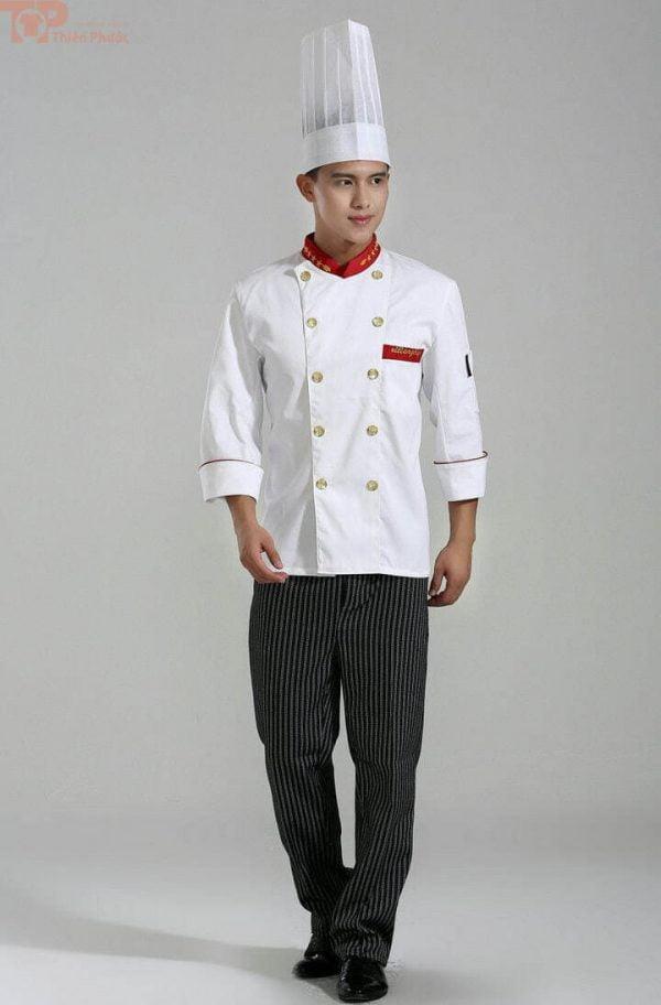 Đồng phục bếp cho nam