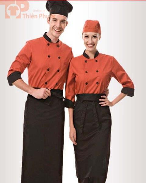 đồng phục bếp cho nam nữ