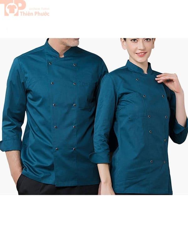 đồng phục bếp có sẵn cho nam nữ