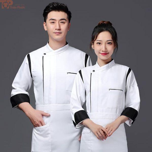 Đồng phục bếp có sẵn nam nữ