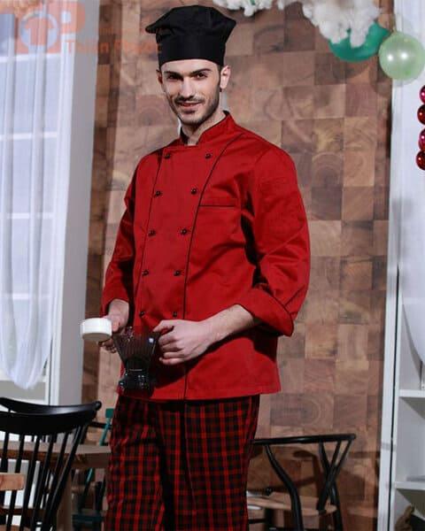Đồng phục bếp kiểu Tây