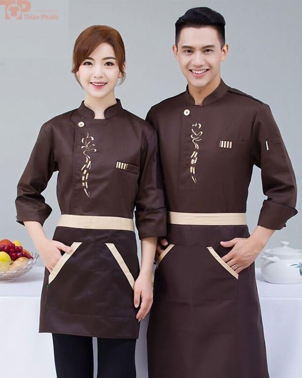 Đồng phục bếp mẫu nhà hàng