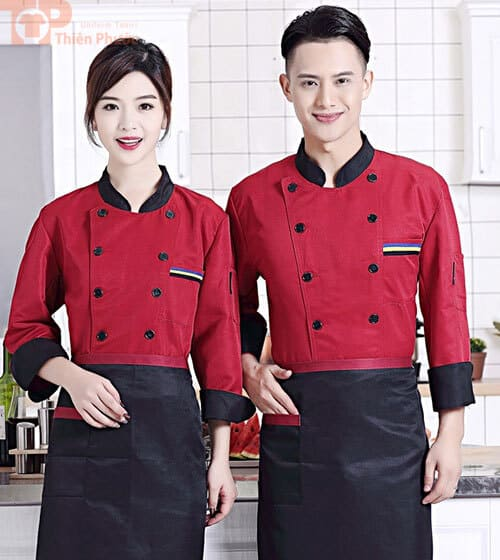 Đồng phục bếp mẫu