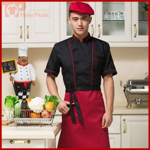 Đồng phục bếp nam